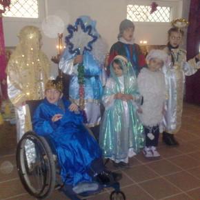 Первое занятие воскресной школы во втором полугодии 2013-2014 уч.г.