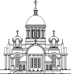 Внешний вид будущего храма